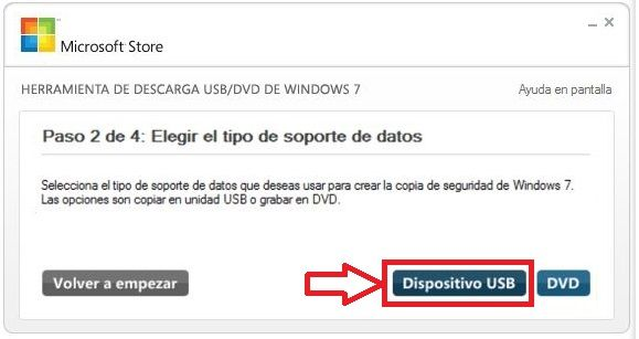 windows 7 usb de arranque