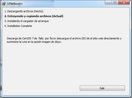 solucion de errores en unetbootin usb booteable