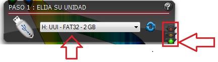LinuxLive USB Creator paso 1 tutorial