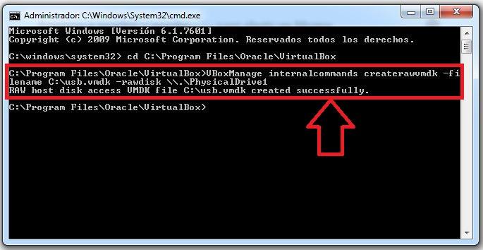 comando para crear usb booteable para virtualbox